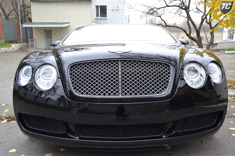 bentley contenental GT v12 black